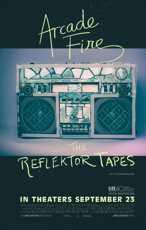 unnamed Arcade Fire share full trailer for The Reflektor Tapes, plus theaters and showtimes revealed