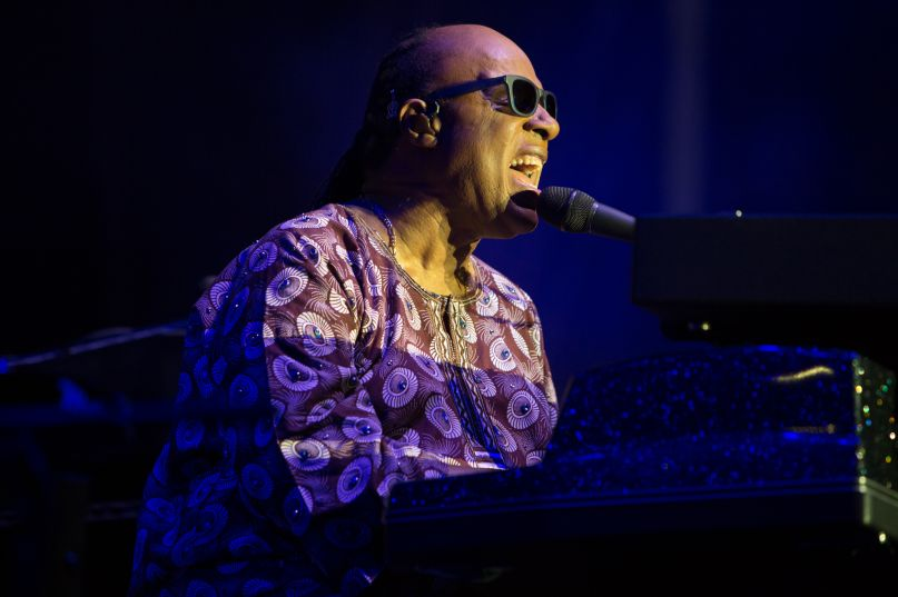Stevie Wonder, photo by Philip Cosores