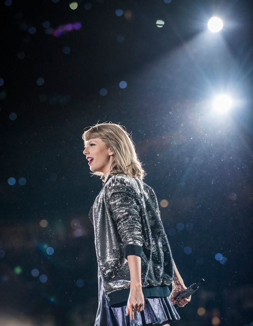 Taylor Swift // Photo by David Brendan Hall