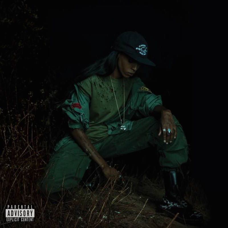 Angel Haze back to the woods