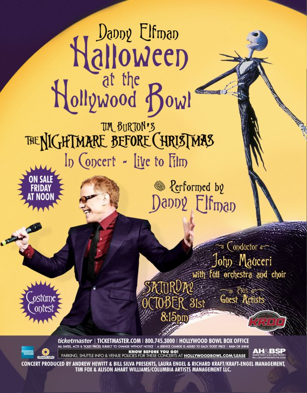 elfman 4 Danny Elfman to perform The Nightmare Before Christmas on Halloween