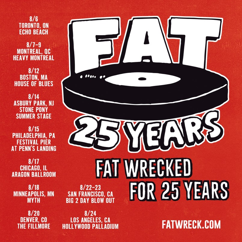fat wreck chords poster