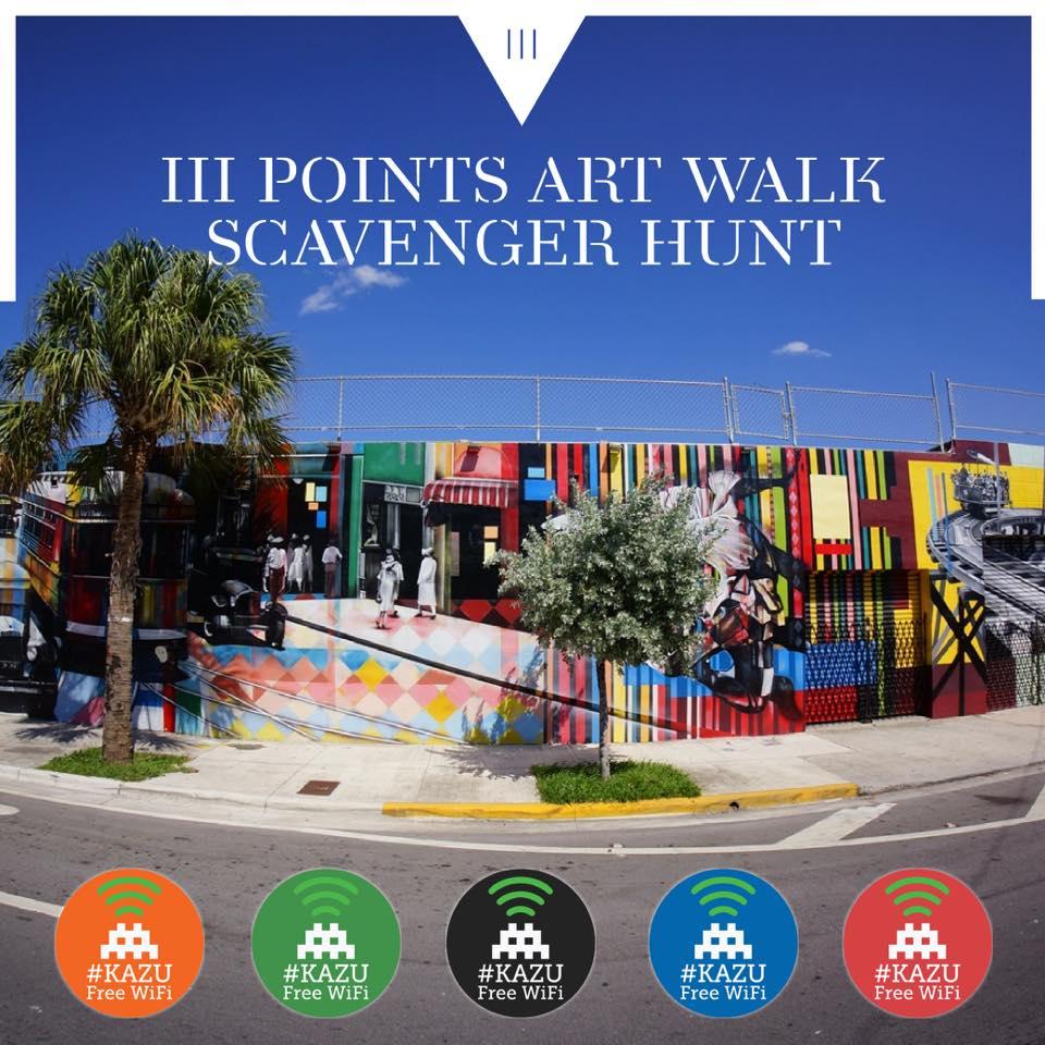 iii points scavenger hunt