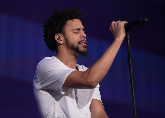 J. Cole // Photo by Cathy Poulton