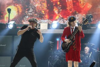 AC/DC Photo by Heather Kaplan