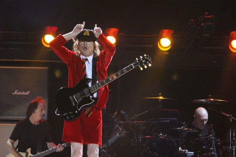 AC/DC, photo by Heather Kaplan