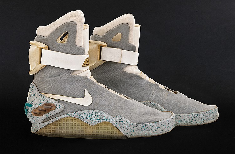 Marty McFly's actual self-lacing Nike