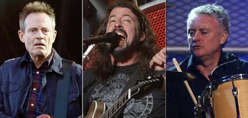Foo Fighters John Paul Jones Taylor