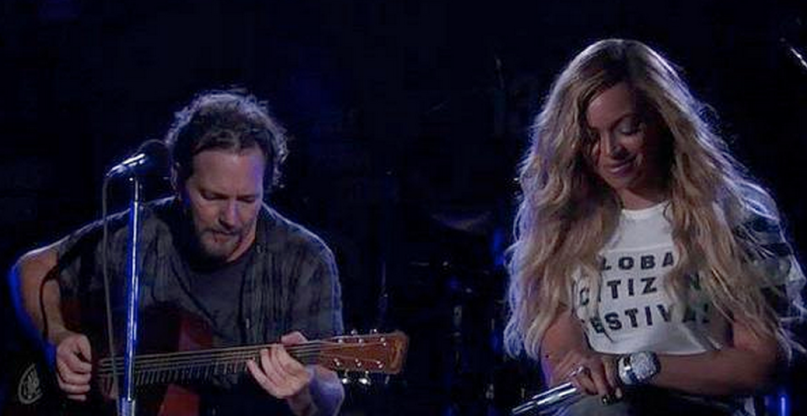 Eddie Vedder Beyonce