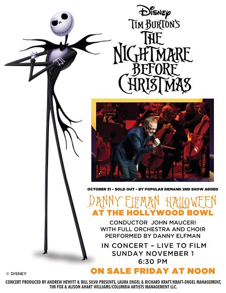 unnamed2 Danny Elfman to perform The Nightmare Before Christmas on Halloween
