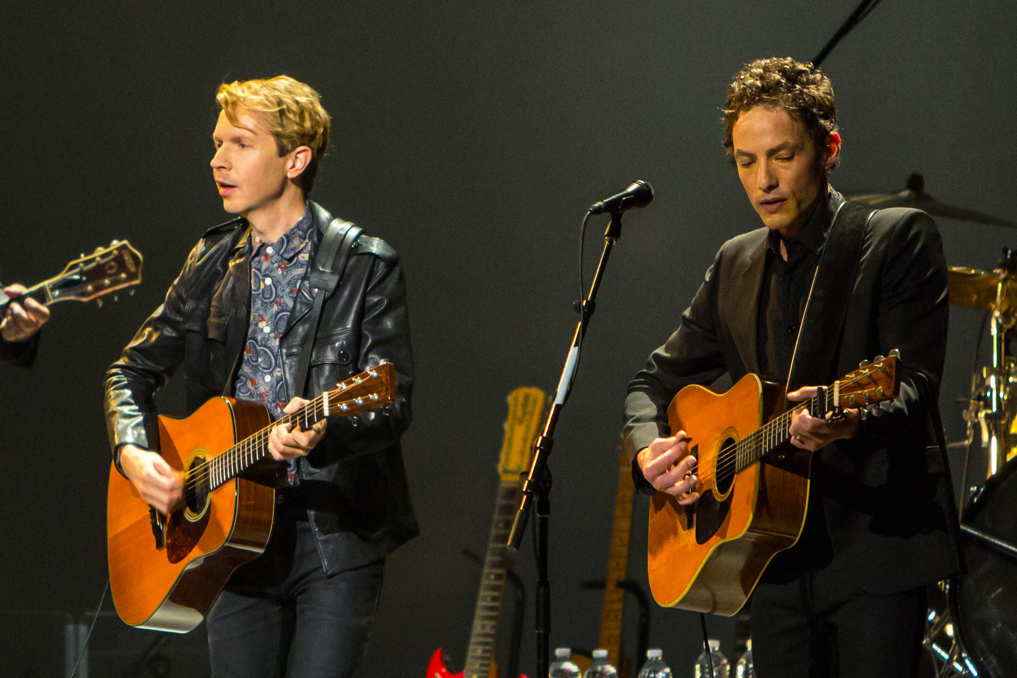 Beck and Jakob Dylan // Photo by Philip Cosores