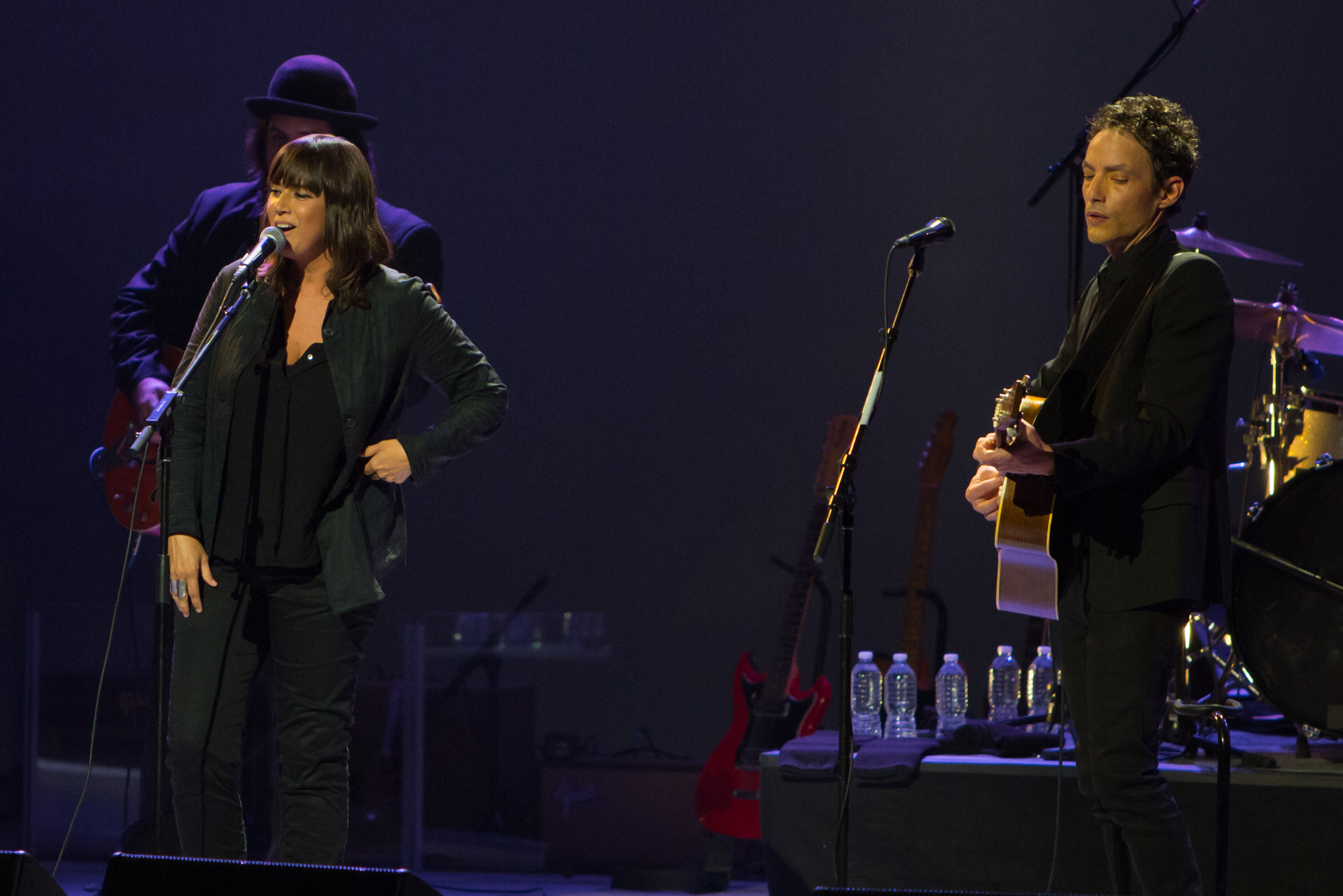 Cat Power and Jakob Dylan // Photo by Philip Cosores