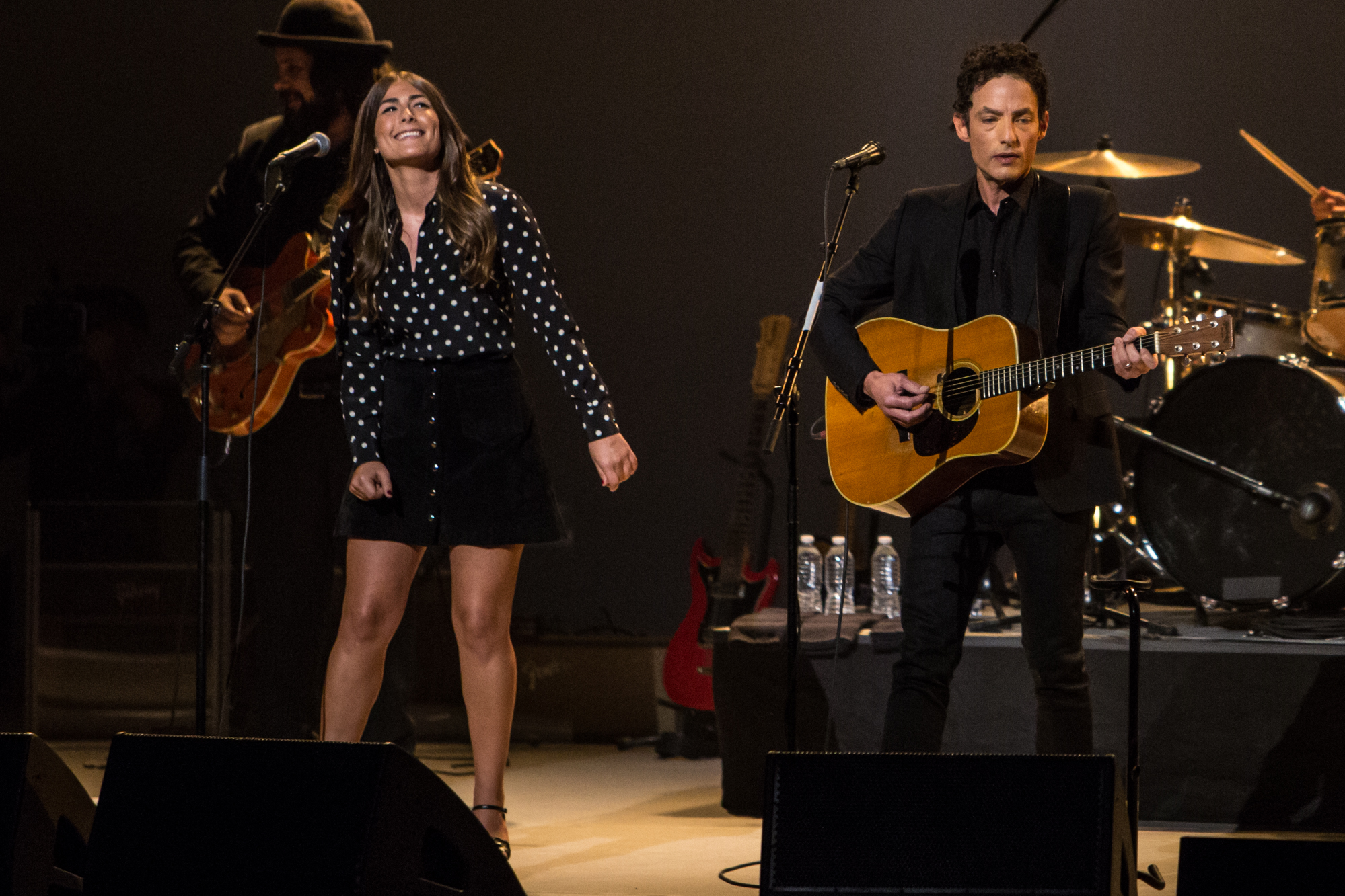 Jade and Jakob Dylan // Photo by Philip Cosores