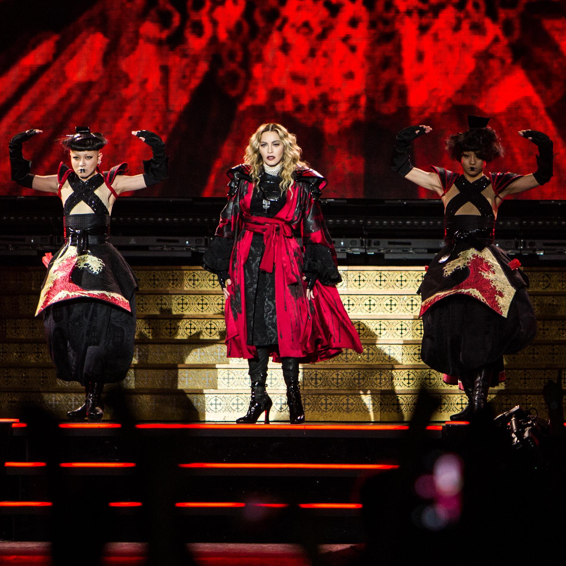 Madonna // Photo by Philip Cosores