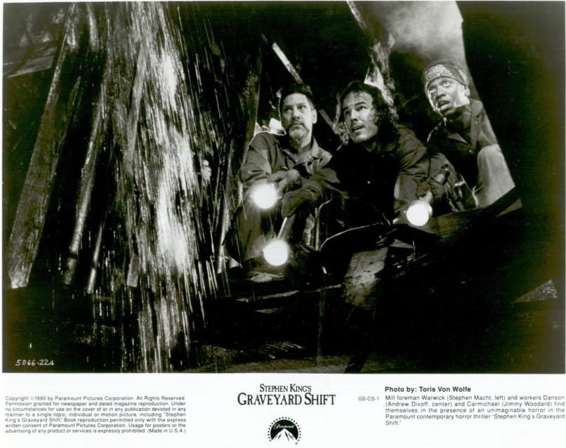 1990 Stephen King's Graveyard Shift Stephen Macht Andrew Divoff Jimmy Woodard