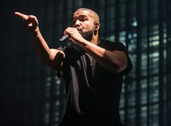 Drake // Photo by David Brendan Hall