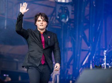 Gerard Way // Photo by David Brendan Hall