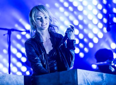 Metric // Photo by David Brendan Hall