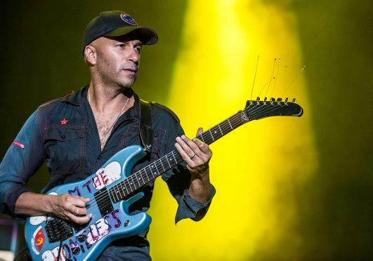 Tom Morello // Photo by David Brendan Hall