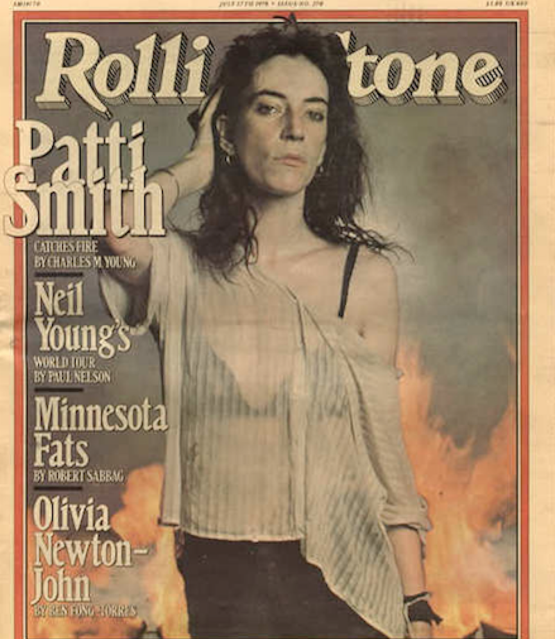 patti Patti Smith reunited with stolen items nearly 40 years later