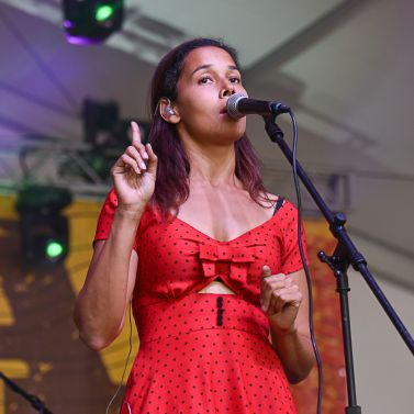 Rhiannon Giddens // Photo by Amy Price