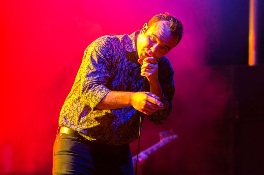 Future Islands // Photo by Philip Cosores