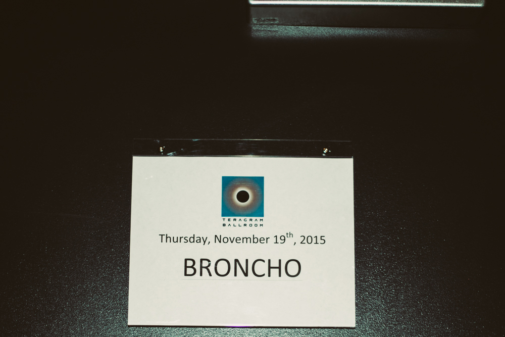 BRONCHO // Photo by Rozette Rago
