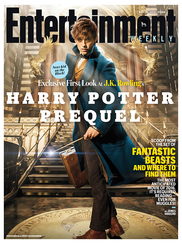 beasts ew 1389 cover First look at Eddie Redmayne in Harry Potter prequel Fantastic Beasts and Where to Find Them