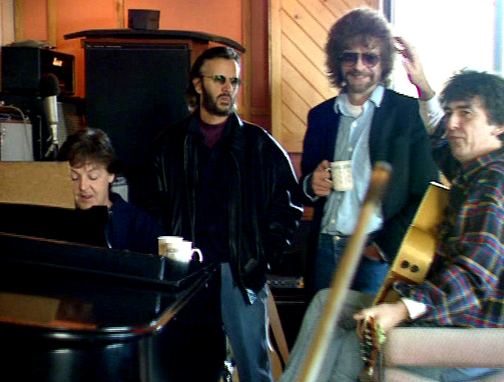 beatles jeff lynne Twenty Years Ago, The Beatles Reunited for the First and Last Time