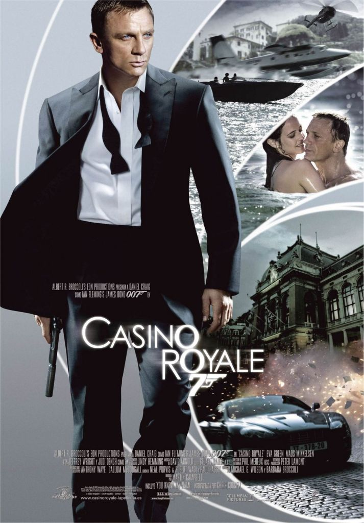 casino royale Ranking: Every James Bond Film From Worst to Best