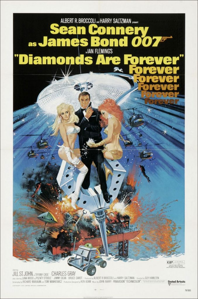 diamonds are forever Ranking: Every James Bond Film From Worst to Best