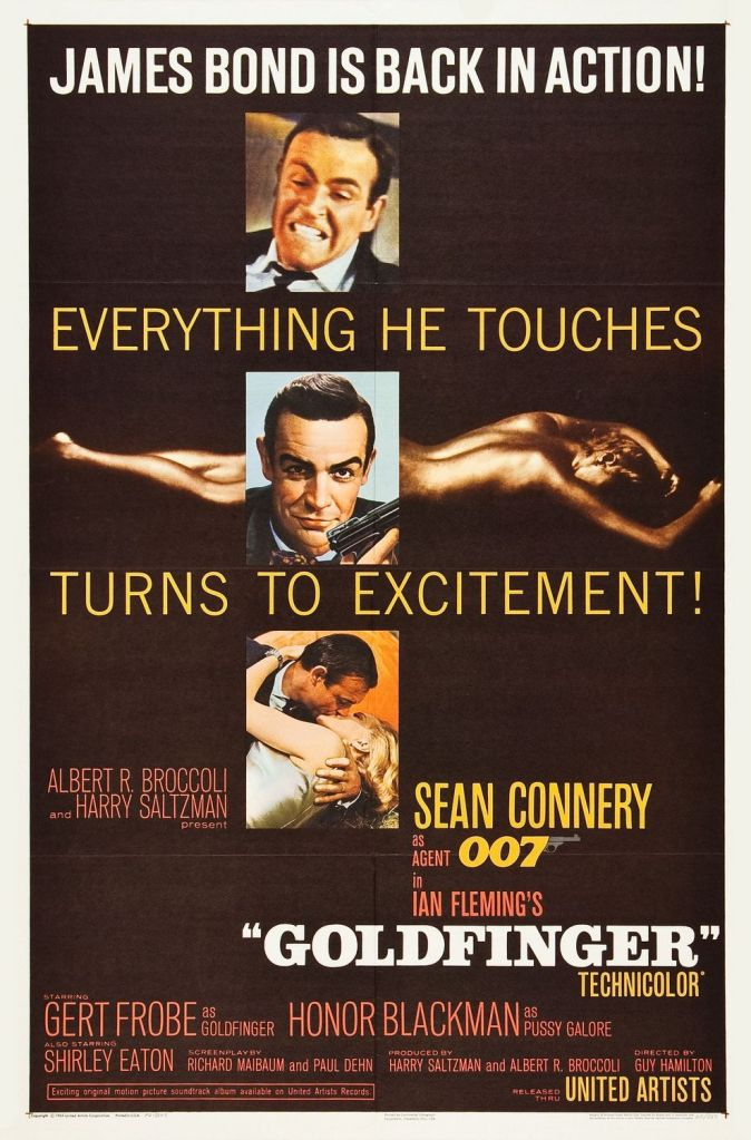goldfinger Ranking: Every James Bond Film From Worst to Best