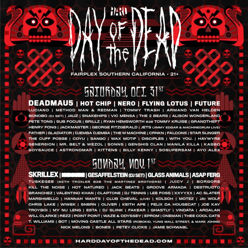 a4fdb2d51b2771 HARD Day of the Dead 2015 Festival Review  The Top 10 Sets ...