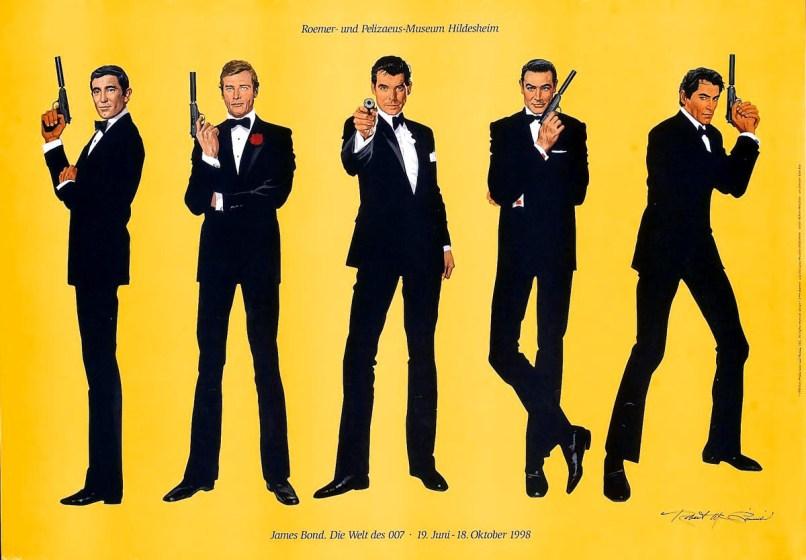 james bond illustration White? Black? Female? The Next James Bond Only Needs to Be Captivating