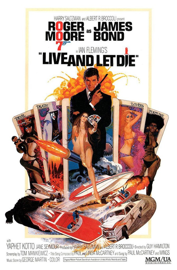 live and let die Ranking: Every James Bond Film From Worst to Best