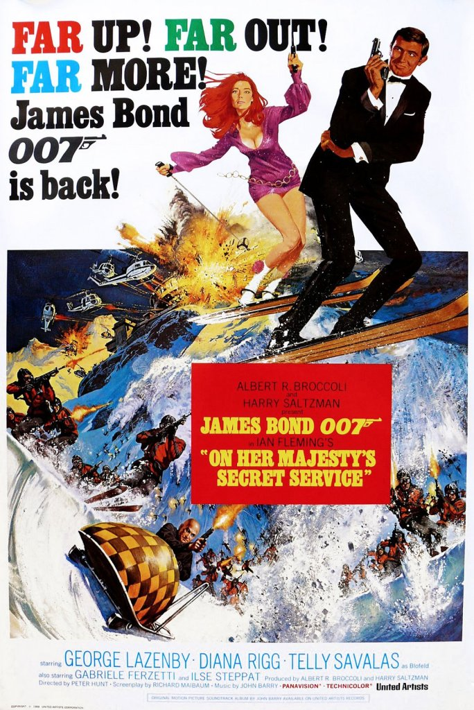 on her majestys secret service Ranking: Every James Bond Film From Worst to Best