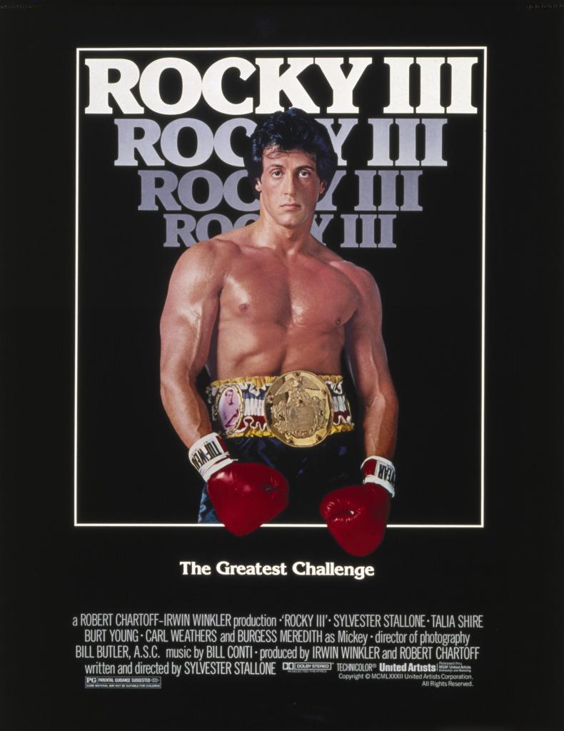 rocky 3 poster Yo, Adrian! I Did It! I Marathoned All Five Rocky Sequels!