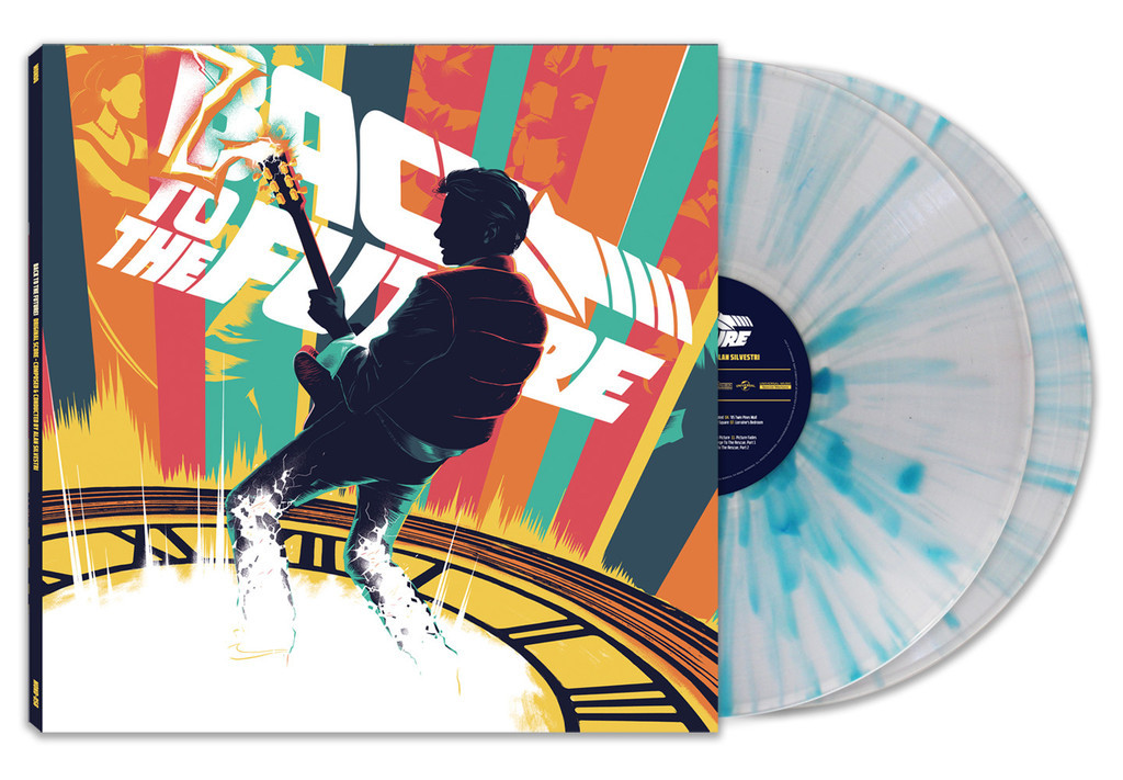 Mondo's forthcoming Back to the Future vinyl