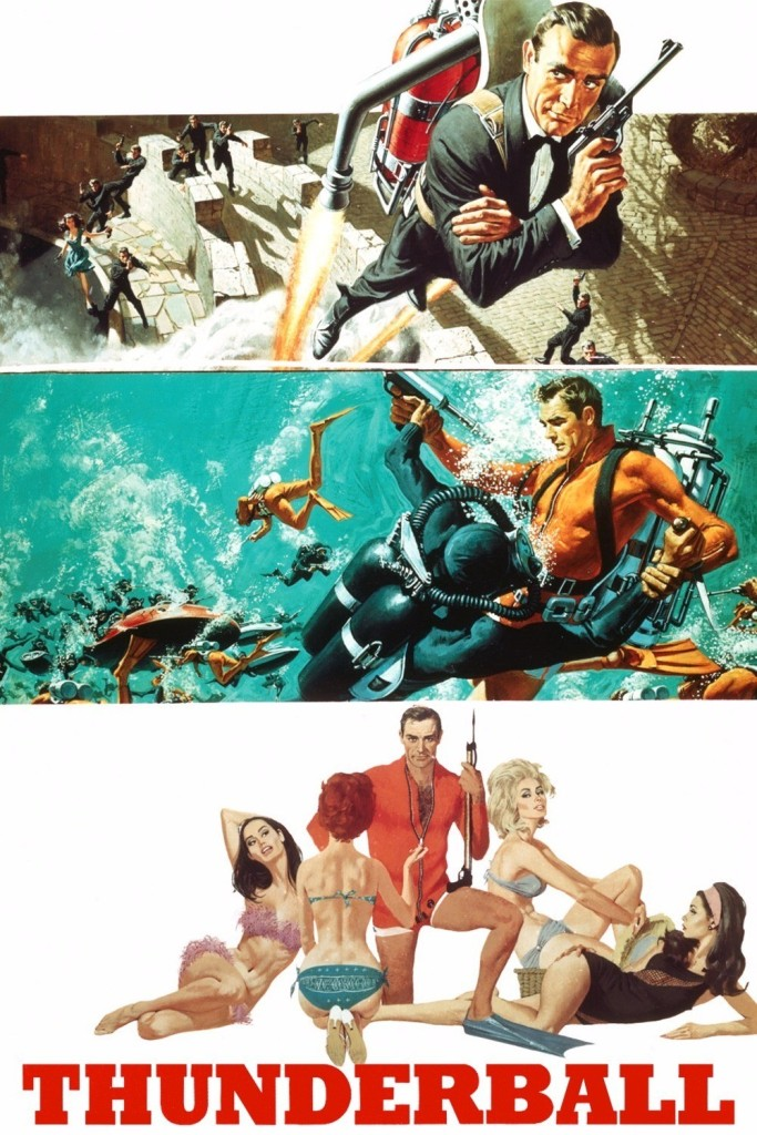 thunderball1 Ranking: Every James Bond Film From Worst to Best