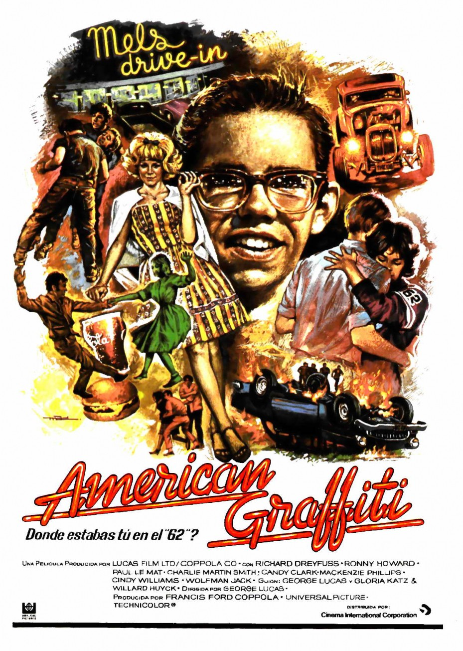 american graffiti poster e1449869828578 How Star Wars Almost Didnt Happen