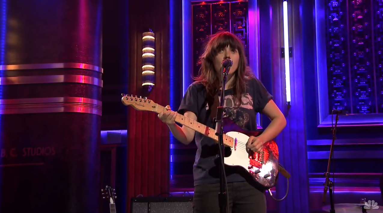 atolls 10 Artists Reflect on Courtney Barnett Wearing Their T Shirts
