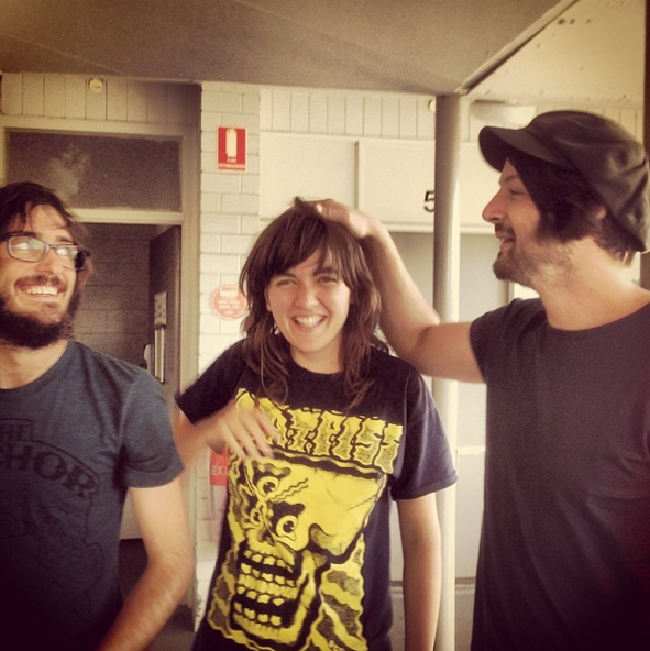 batpiss 10 Artists Reflect on Courtney Barnett Wearing Their T Shirts