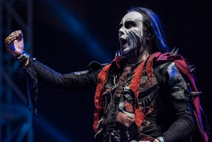 Cradle of Filth // Photo by David Brendan Hall