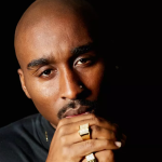 Demetrius Shipp Jr. as Tupac Shakur in All Eyez on Me Photo Quantrell Colbert)