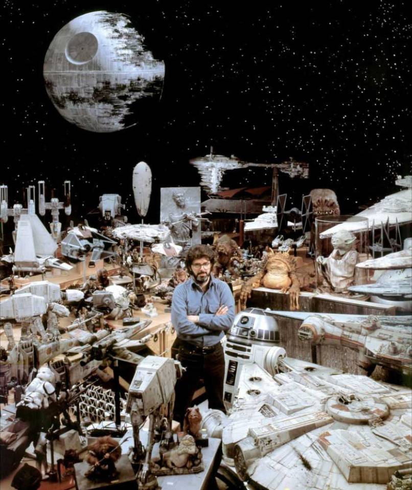 george lucas and star wars props How Star Wars Almost Didnt Happen