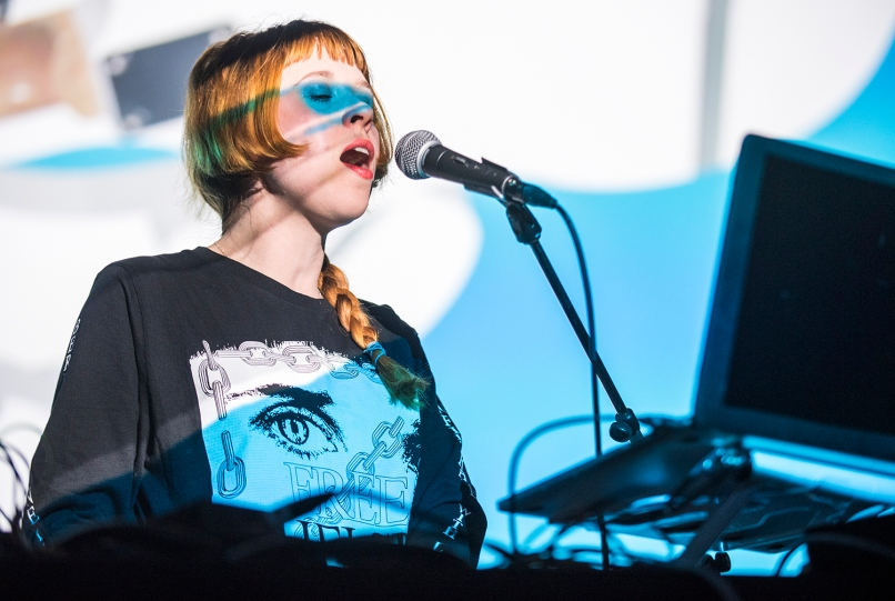 Holly Herndon // Photo by David Brendan Hall