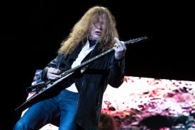 Megadeth // Photo by Jaime Fernandez