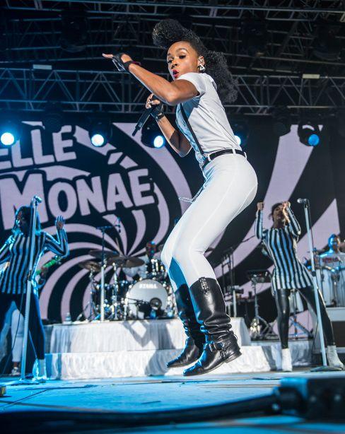 Janelle Monae // Photo by David Brendan Hall
