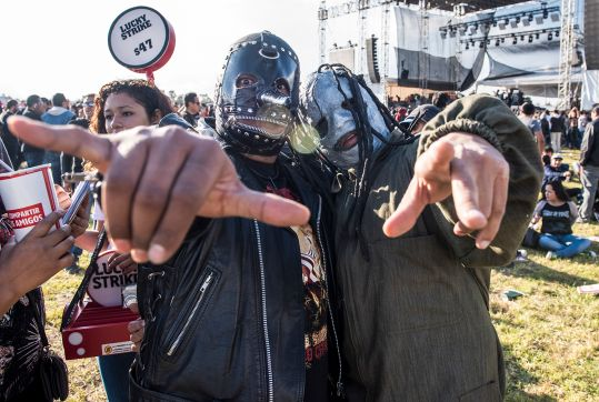 Knotfest Mexico 2015 // Photo by David Brendan Hall