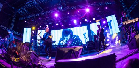 New Order // Photo by David Brendan Hall